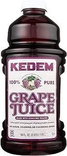 Kedem Concord Grape Juice, 64 FO (8 Bottles)
