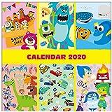 サンスター文具 ディズニー 2020年 カレンダー 壁掛け ピクサー キャラクター S8517711