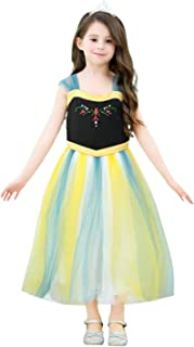 Dressy Daisy Girls Princess Dress Up Snow Costumes Halloween Christmas Party Outfit