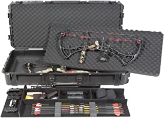 CVPKG Presents Black SKB 3i-4719-PL Ultimate Single/Double Bow Case with 2 TSA locking Latches with Keys.