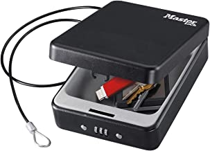 Master Lock ML-P005CEURBLKHRO Compact Safe, Small