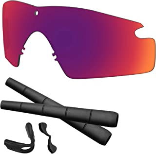 Si M Frame 2.0 Lenses & Rubber Kits Replacement for Oakley Polarized