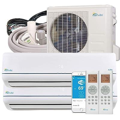 Senville SENA-18MO-209 18000 BTU Dual Zone Split Air Conditioner