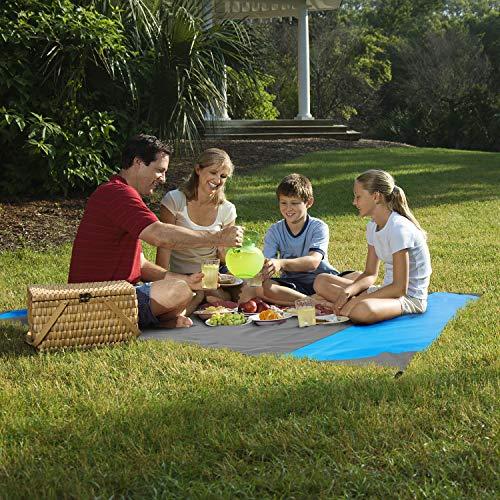 Alfombra de picnic, manta de picnic impermeable grande y facil de llevar 210 x 200cm.Medida ideal distanciamiento social. Alfombra de playa de bolsillo para actividades de exterior y aire libre.