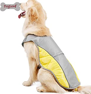 DogLemi(ドッグレミ) クールベスト 犬 冷感犬服 小型犬 中型犬 大型犬 ペットクーリングベスト ペット用品 ドッグウェア 冷却コート ひんやり 夏 ベスト クール犬用夏服 夏服 熱中症対策 暑さ対策 快適 着脱簡単 通気 汗吸収 (XS)