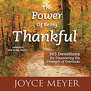 The Power of Being Thankful cover art