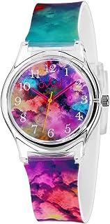 Ovvel Girls Watch – Pretty and Cute Kids Wristwatch with...