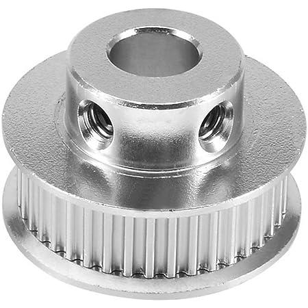8Pcs 8mm 2GT roue de poulie de distribution en alliage daluminium Accessoires dimprimante 3D courroie de distribution en caoutchouc de 5m * 6mm avec cl/é /à vis pour imprimante 3D CNC
