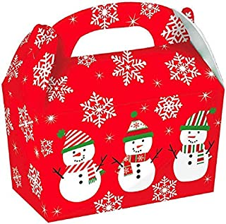 Christmas Snowman Gable Boxes, 5 Ct. | Party Supply