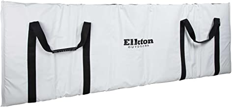 Elkton Outdoors Insulated Fish Cooler Bag with Easy Grip Carry Handles and Carry Pack, The Perfect Leakproof Sea and Lake Fishing