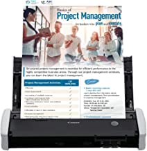 Canon imageFORMULA R10 Portable Document Scanner, 2-Sided Scanning with 20 Page Feeder, Easy Setup For Home or Office, Inc...