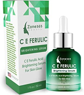 Sponsored Ad - ZONE – 365 Brightening Serum; Hyperpigmentation Treatment; With Vitamin C, E, Ferulic, and Hyaluronic Acid;...