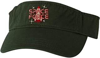 Go All Out Adult Space Force Embroidered Visor Dad Hat