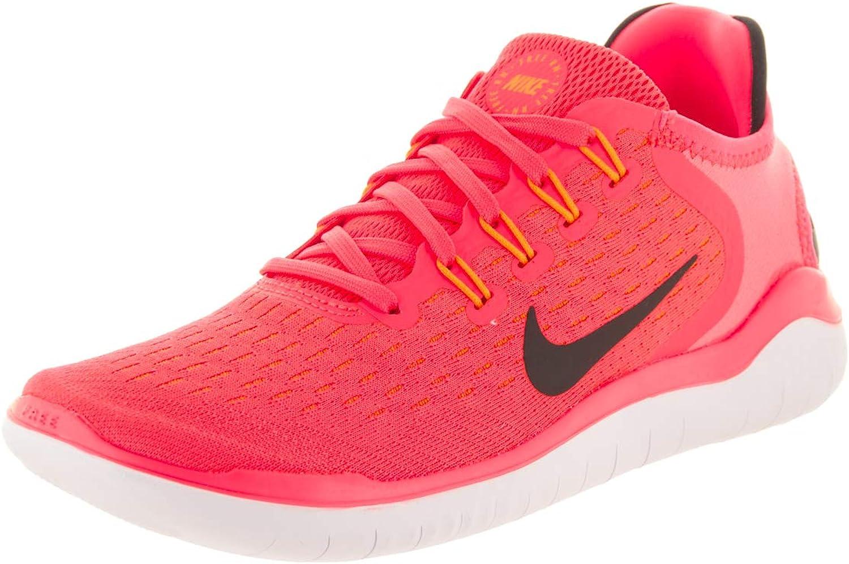Nike Woherrar Free springa 2018 Flash Crimson Crimson Crimson  svart orange Peel vit  butik försäljning försäljningsstället