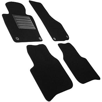 Fußmatten für Skoda Supert II 3T alle Velours Premium Qualität Autoteppiche Set