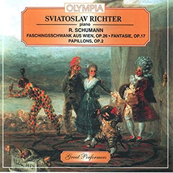 Schumann: Fantasie, Faschingsschwank aus Wien etc.