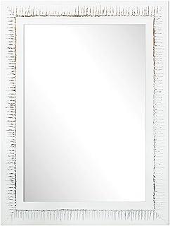 Chely Intermarket Espejo de Pared Cuerpo Entero 50X70 cm(6650x87cm)BlancoMod-133 Ideal para peluquerías salón recib...