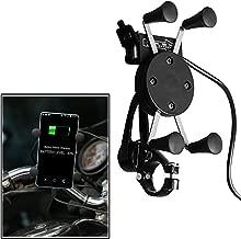 VheeloCityin Spider Bike Mobile Holder with USB Charger Bracket