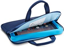 NuPro Zipper Sleeve for Fire 7 Kids Edition Tablets, Navy/Blue