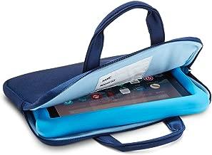 NuPro Zipper Sleeve for Fire 7 Kids Edition Tablet and Fire HD 8 Kids Edition Tablet, Navy/Blue