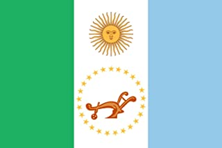 magFlags XXS Flag Chaco Province | Landscape Flag | 0.24m² | 2.5sqft | 40x60cm | 1.3x2foot - 100% Made in Germany - Long L...