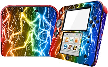 Lightning Design Video Game Vinyl Skin Decal for Nintendo 2DS System Console Sticker
