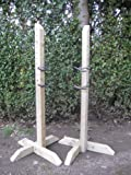Pair 4ft Show Jump Training Wings with 2 Pairs Of Show Jump Cups