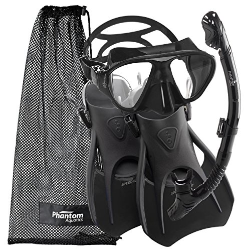 Phantom Aquatics Lotus Adult Recreation Mask...