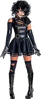 Women's Halloween Costume Harlequin Clown Outfit Kit, Clown Wig, Clown Nose