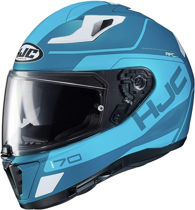 Small Teal//Orange//Black HJC i70 Helmet Karon