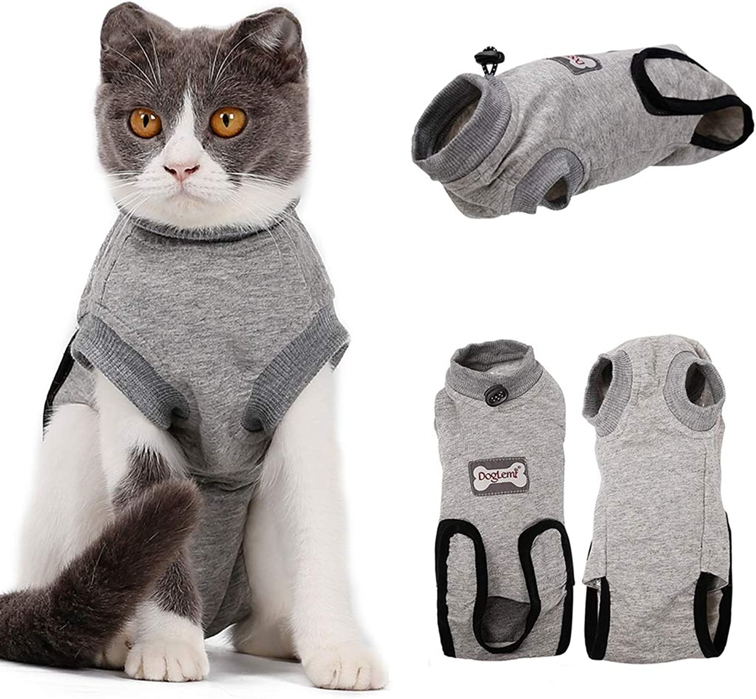Cat Sterilization Clothes,rehabilitation Suit Pet,for The Treatment Of Weaning Abdominal Wound Skin Diseases,disinfecting A Female Or Male Cat,cotton Breathable Household Clothing Wiping Medicine Wear Weaning