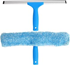 MR.SIGA Professional Window Cleaning Combo – Squeegee & Microfiber Window..