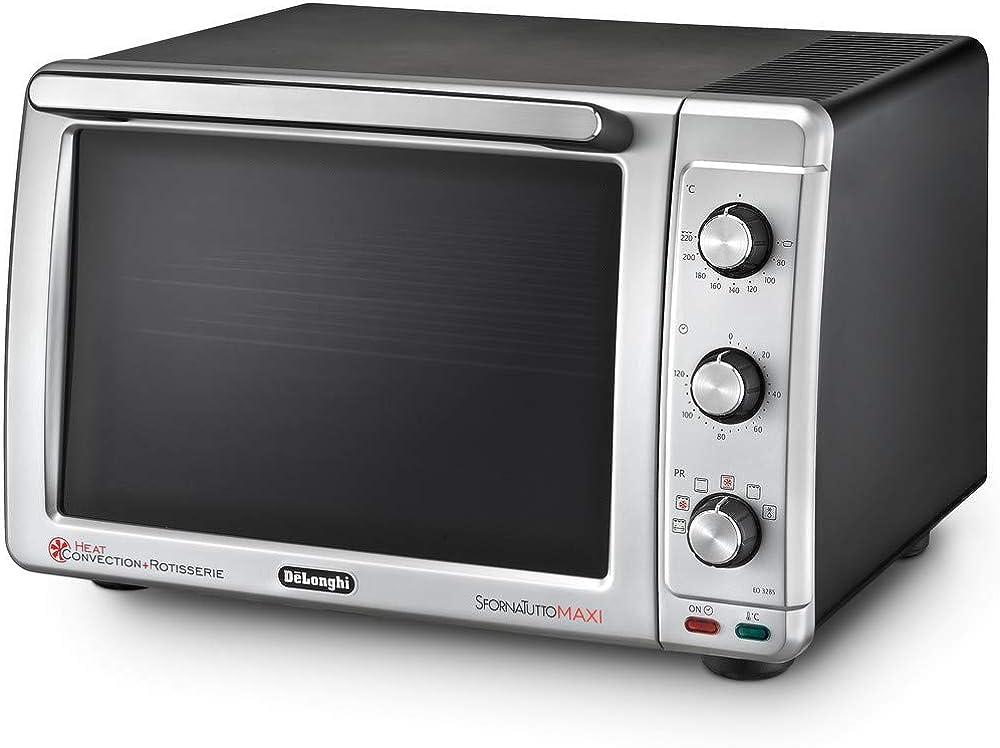 De`longhi sfornatutto maxi forno elettrico, 32 litri, 2200 w, EO32852