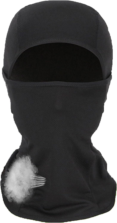 FGXY Balaclava mascarilla Facial, Pasamontañas multifunción de Licra para Motocicleta, Balaclava Protección UV Máscaras faciales, Ciclismo, Esquí, Senderismo, Monopatín, Entrenamiento Táctico