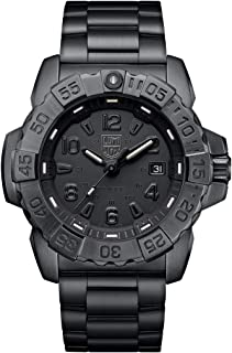 Luminox Mens Wrist Watch Navy Seal Steel Black Out (XS.3252.BO.L) - 200 M Water Resistant, Sapphire Crystal, Swiss Made