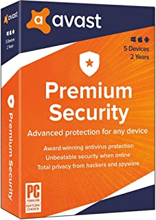 Avast Premium 2020, 5 Devices 2 Year