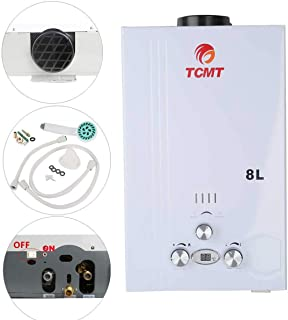 TC-Home 8L LPG Gas Tankless Water Heater 16KW Instant Propane Gas On Demand Boiler House