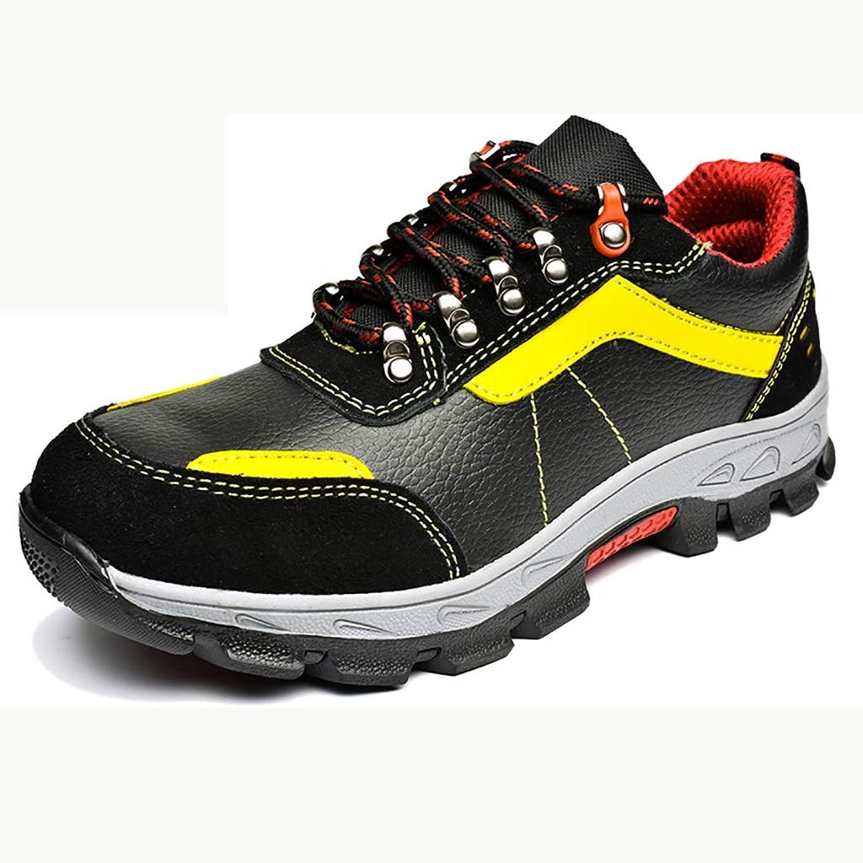 XBXZ Sicherheitsschuhe Airproof leichte Stahlkappe Anti-Smashing-Punktionsstelle Schuhe Mnner und Frauen Sicherheitsschuhe Arbeitsschuhe (Farbe   A, gre   35)