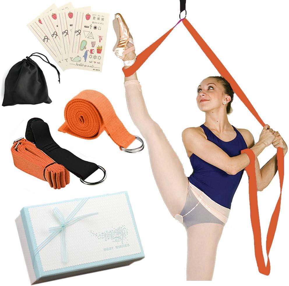 Yoga Band  Door Flexibility Stretching Leg Strap  Temporary Ta