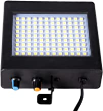 Led Stroboscoop Discolamp,met 48 Led Super Helder Stroboscoop Party Light(Wit)