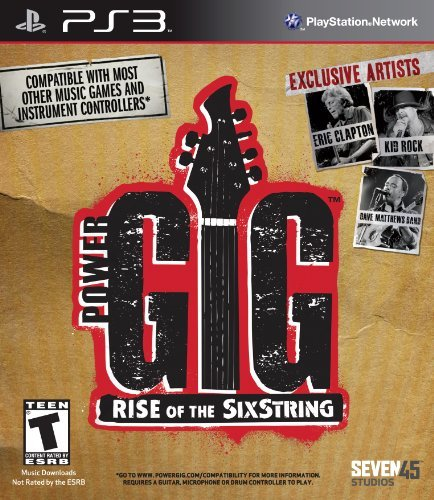Power Gig: Rise of the SixString - Playstation 3 (Game Only) by Seven45 Studios