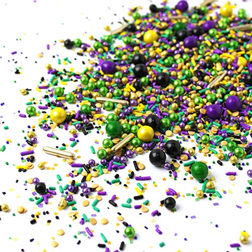 Mardi Gras Sprinkles Mix