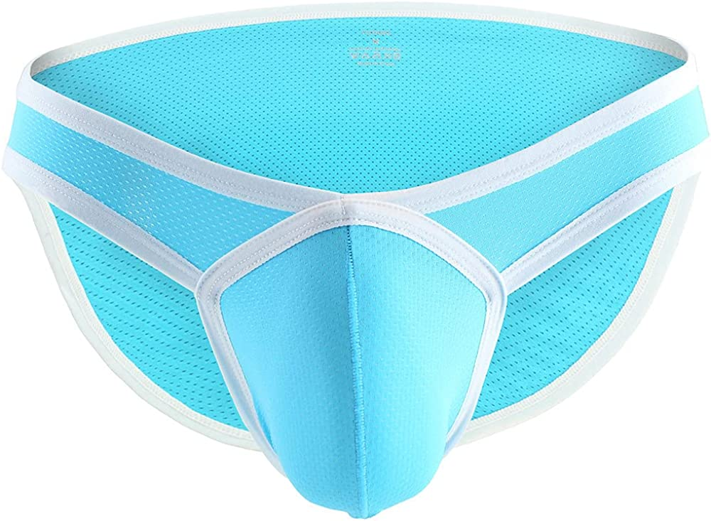 Mens Ball Pouch Support Briefs Underwear Comfort Breathable Cool Dri Fit Cotton Stretch Waistband Boxer G-Strings Thongs