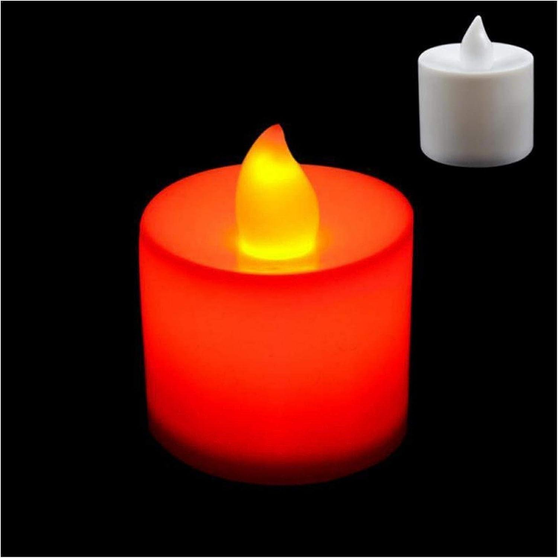 Max 41% OFF Jgzwlkj Candle Lights Creative Lamp Multicolor LED Simula Finally resale start