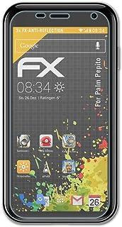 atFoliX Skärmskydd är kompatibel med Palm Pepito Skyddsfilm, antireflekterande och stötdämpande FX Film (3X)