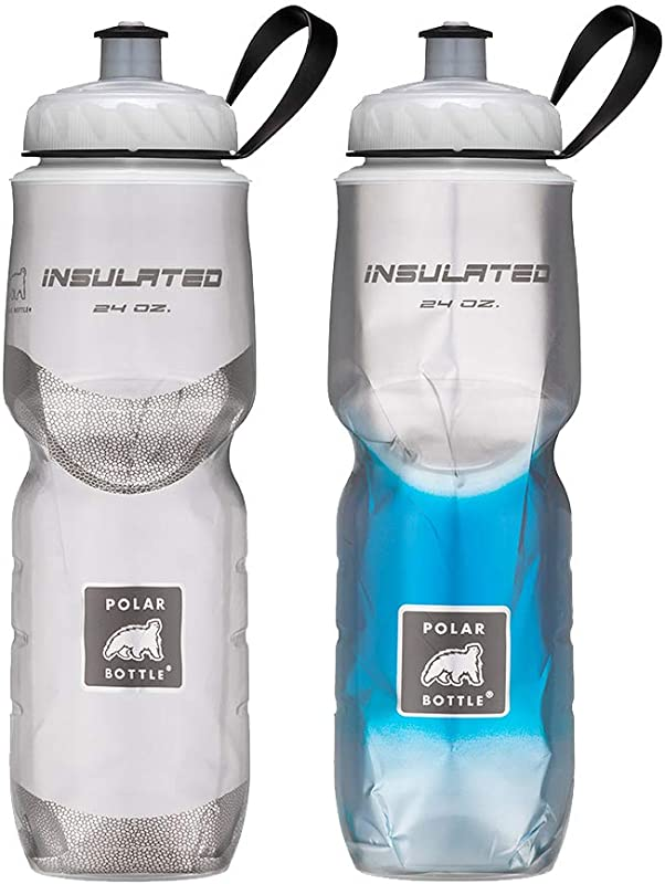 Polar Bottle Insulated Water Bottle 24oz 2 Pack