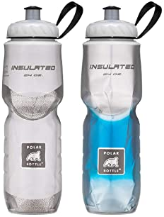 Insulated Polar Polar Thermal Insulated Bottle Hydration 24Oz Lemon Grass