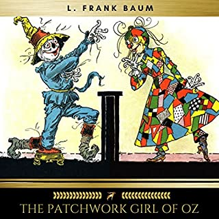 The Patchwork Girl of Oz audiobook cover art