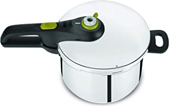 Tefal 6 Liter Stainless Steel Secure 5 Neo Pressure Cooker, Silver - P2530742