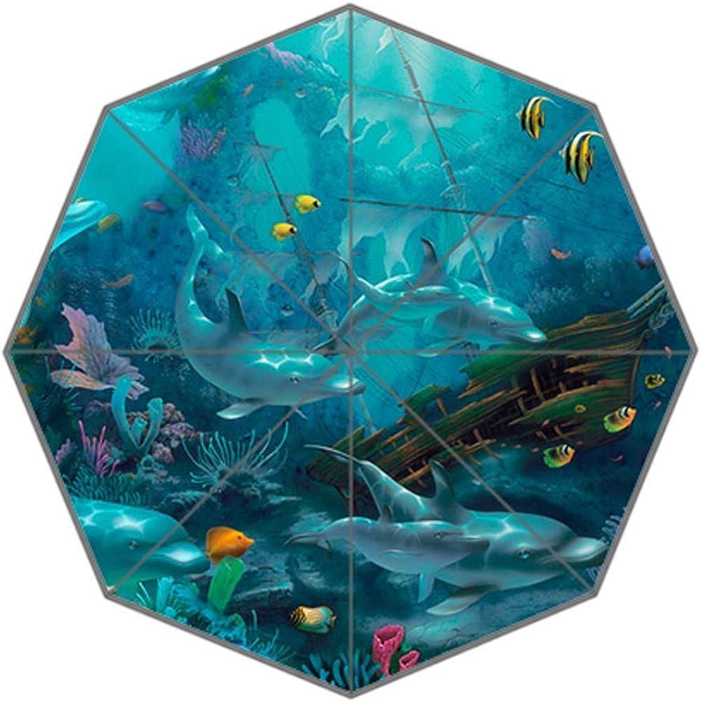 ADEDIY Fashions Dolphin unisex Umbrella Auto New Shipping Free Shipping Foldable Opening